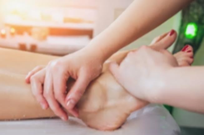 foot massage for Bike and Spa Karma Bavaria