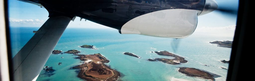 Karma Saint Martins. Isles of Scilly Travel with Cessna plane