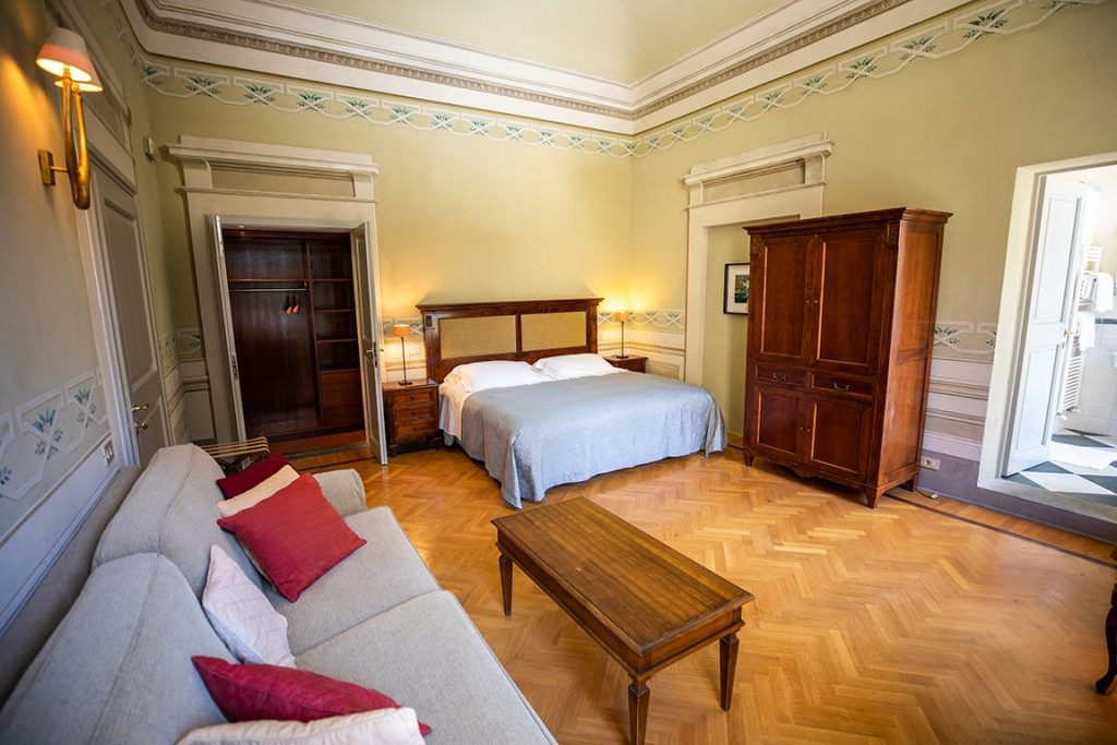luxury resort of Karma Borgo Di Colleoli room