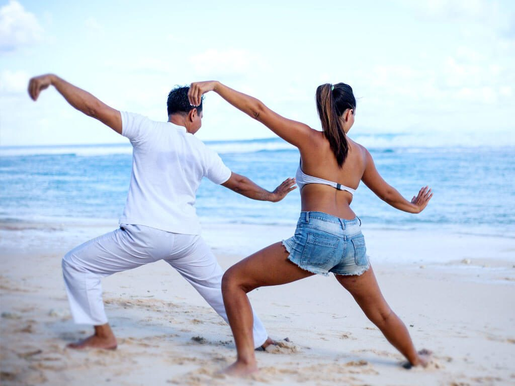 Get Fit and recharge with yoga at luxury resort of karma jimbaran
