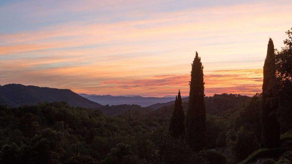 Le Preverger Sunset, France