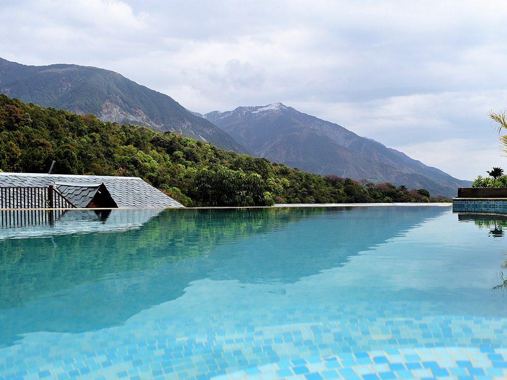 infinity pool of luxury hotel Karma Exotica