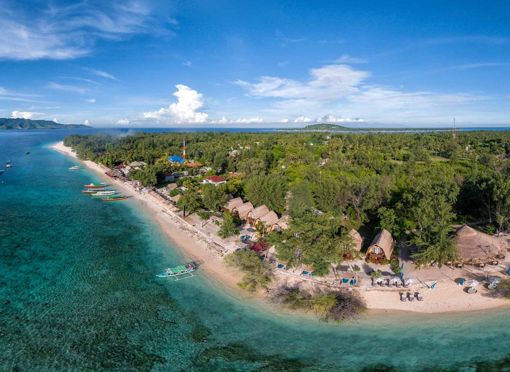karma reef at gili overview