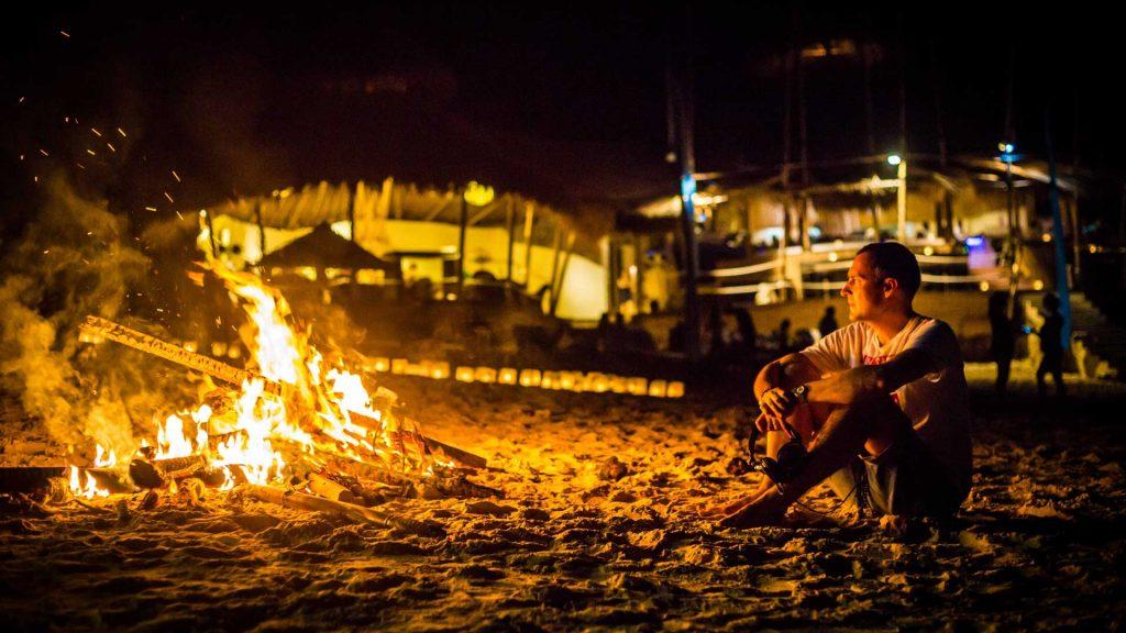 Luxury event on Karma Beach