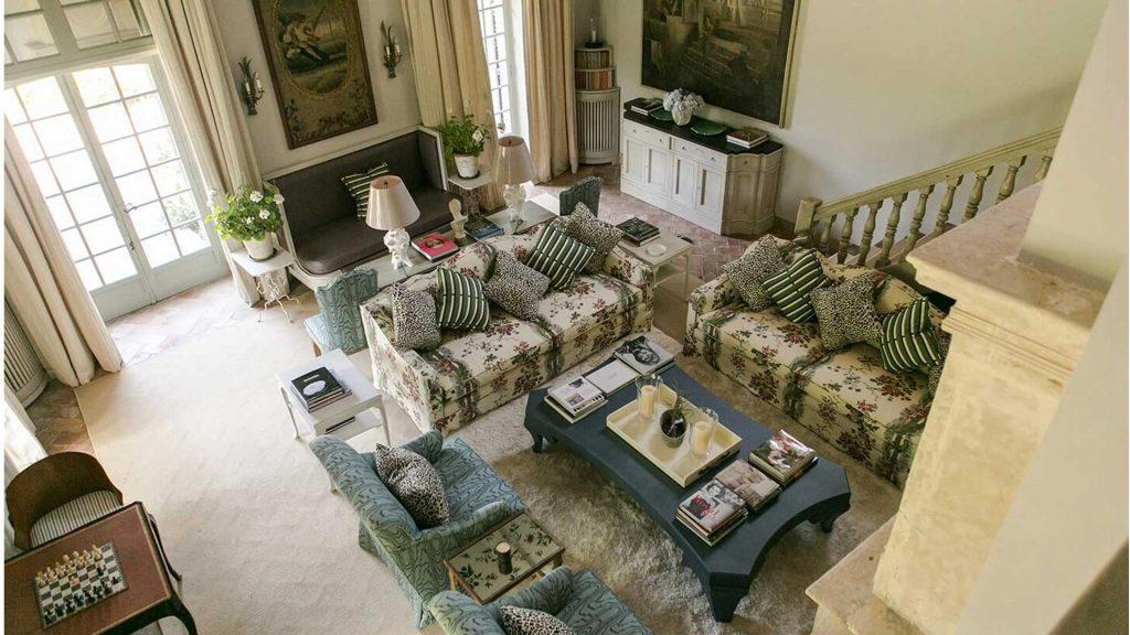 Le Preverger Living Room, France
