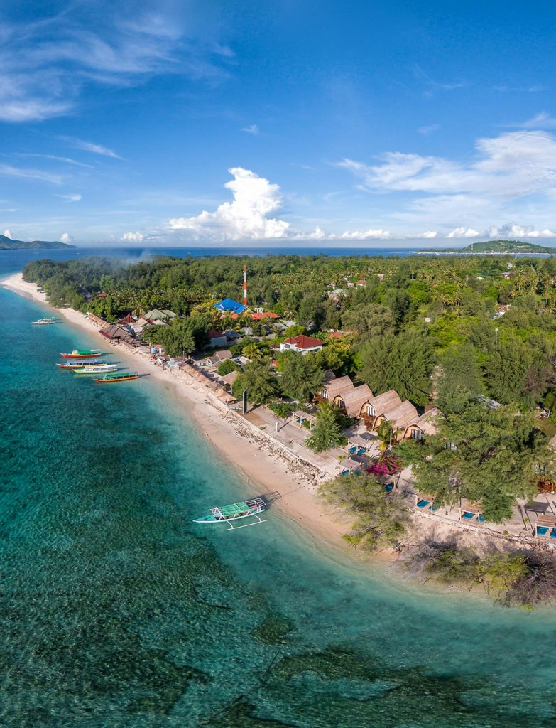 karma reef at gili overview