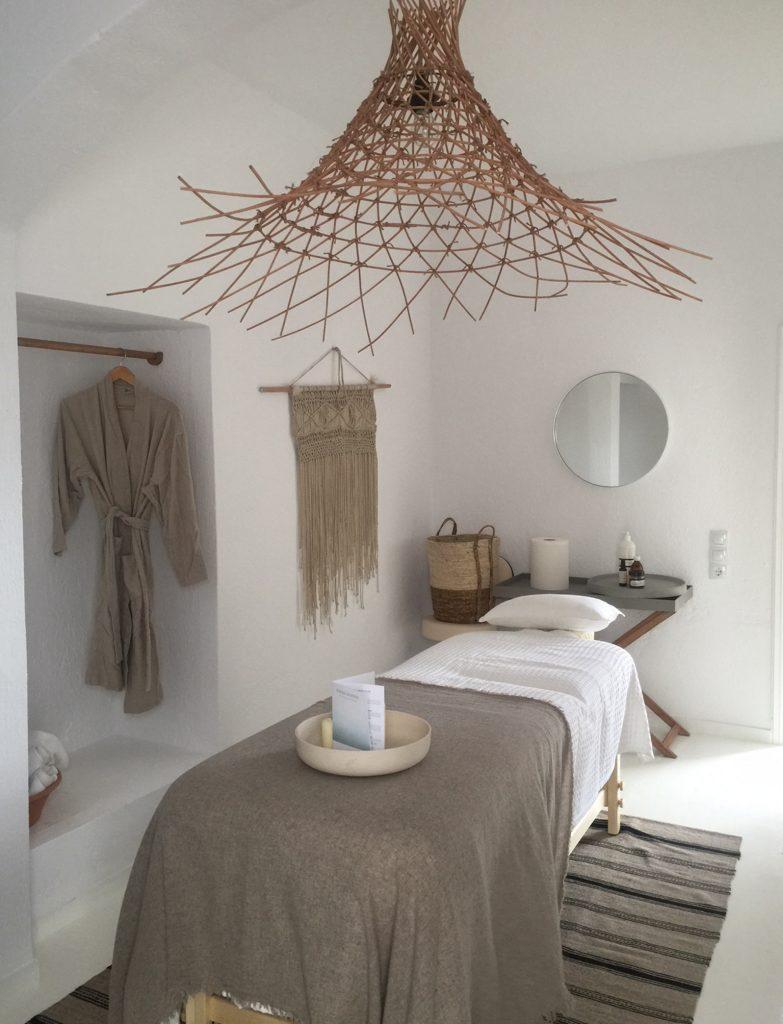 Body treatment and spa at Luxury Hotel Karma Minoan