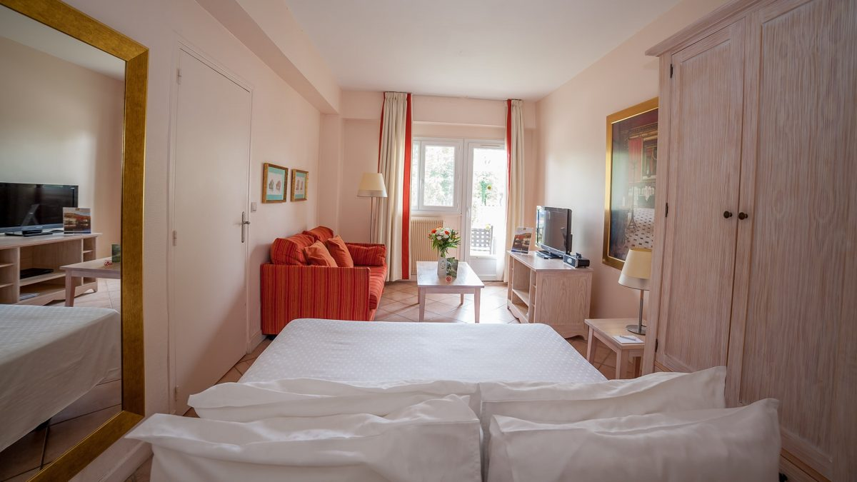 Rooms at Karma Residence Normande, France
