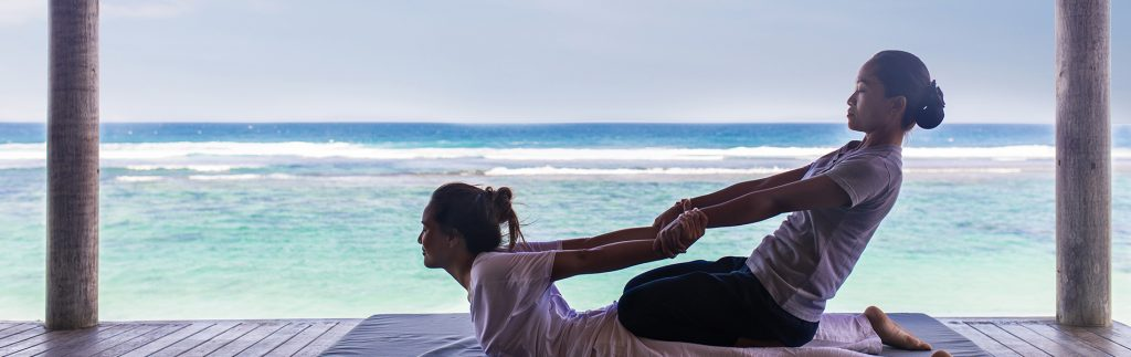 Sunday Wellness with Karma resorts ocean view