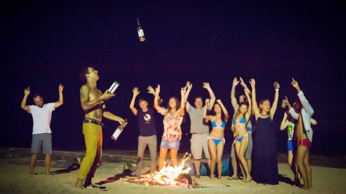 Enjoy the luxury event on luxury resort of karma beach