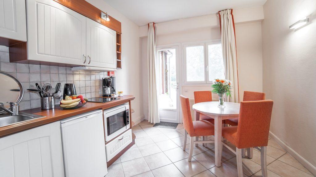 Kitchen Room at Karma Residence Normande, France