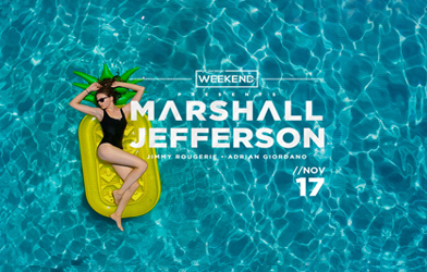 Karma Weekend Days Presents Marshall Jefferson