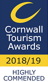 Cornwall Tourism Awards 2018/19 Highly Commended