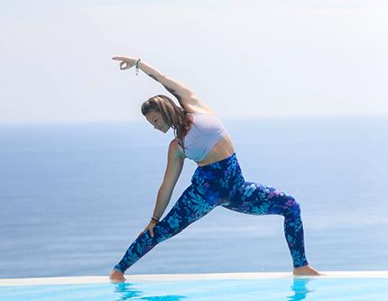 Yoga with Karma's Yoga Ambassador Ola Lirka at Karma Kandara
