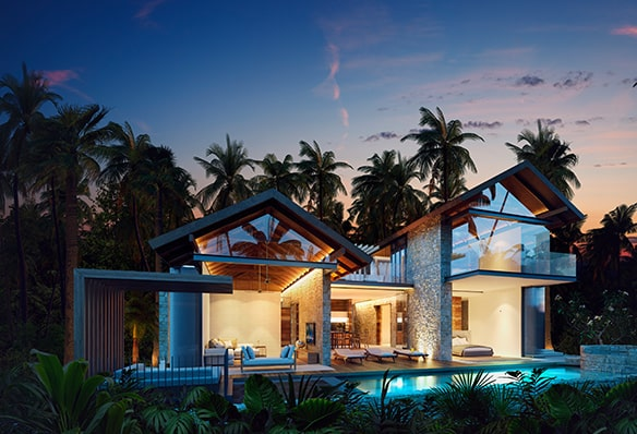 Karma Eight Degrees South 4 Bedroom Private Pools Villa