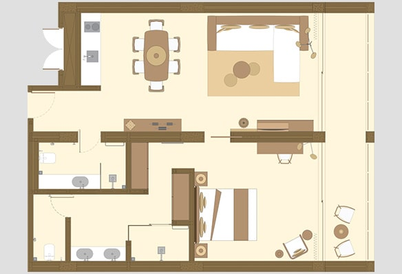 Karma Eight Degrees South One Bedroom Apartment