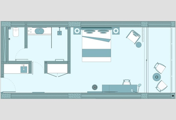 Karma Eight Degrees South Studio Apartment