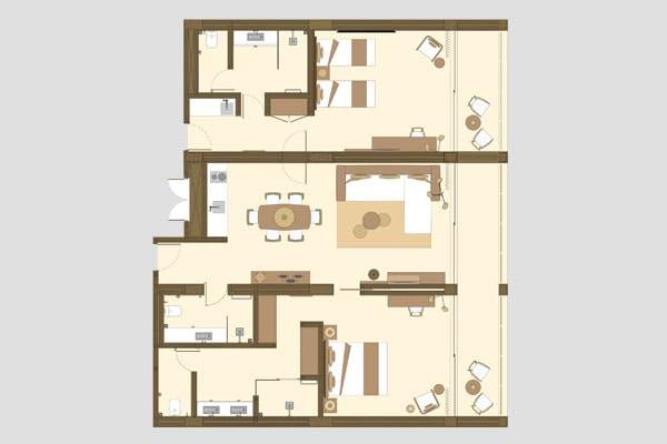 Karma Eight Degrees South Two Bedroom Apartment