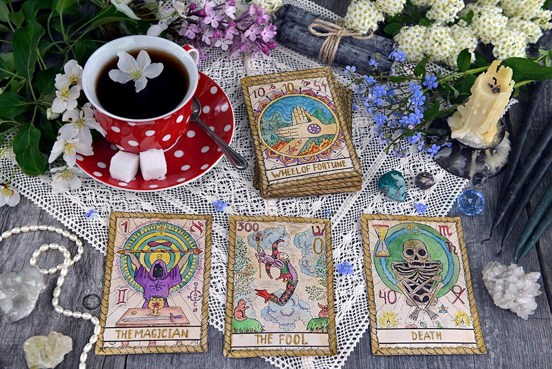 Intuitive Tarot + Tea Readings With Szilvia Galambos
