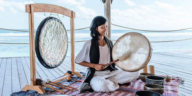 Have you ever wanted to try a sound healing journey? Here's your chance…