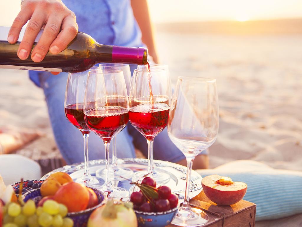 Sand Set Wine Ritual