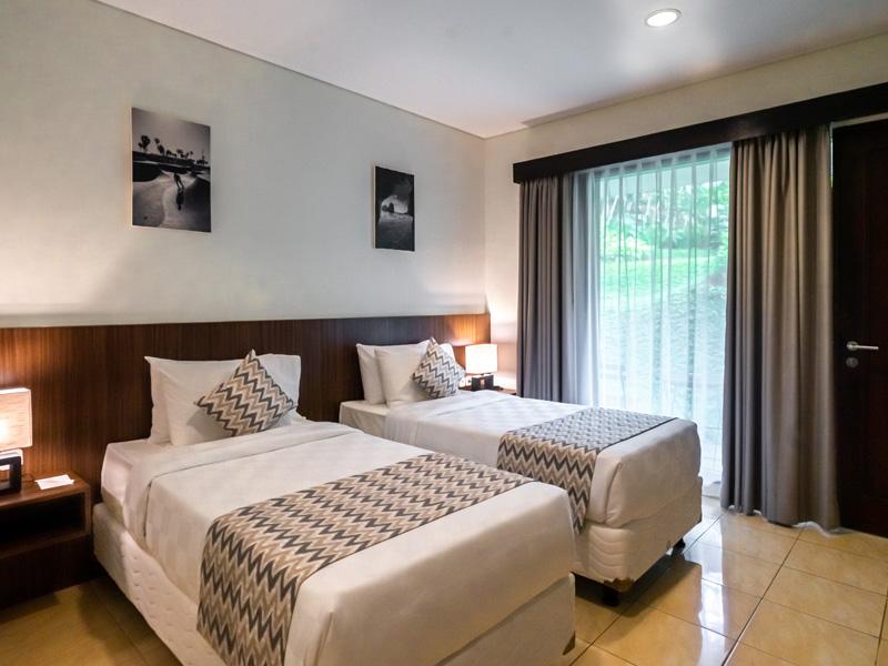 Karma Salak Hotel Unit Twin