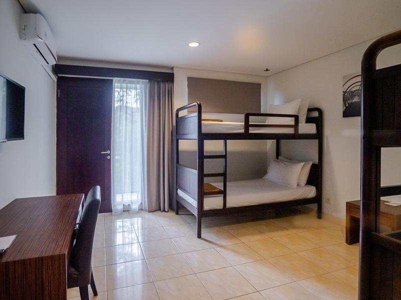 Karma Salak Hotel Unit Bunk Beds