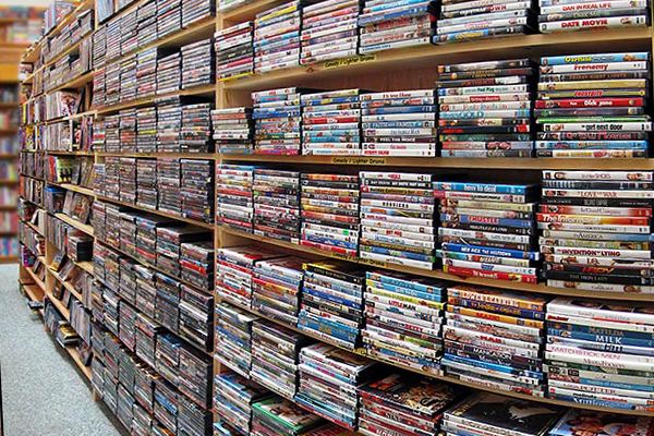 East Clare Golf Village DVD Library