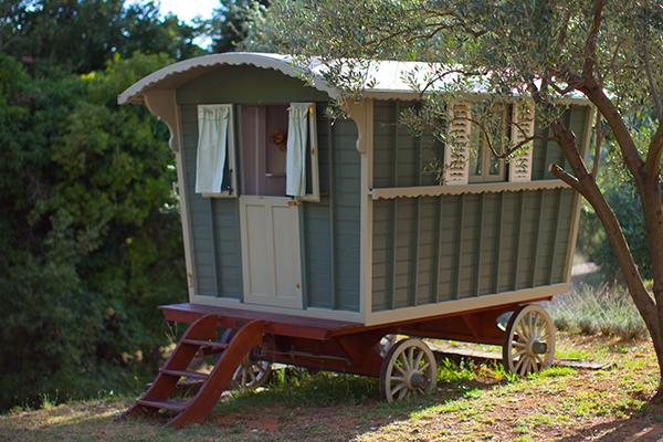 Le Preverger Gypsy Caravans
