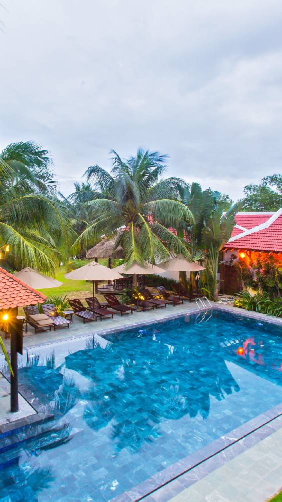 Book Karma Cây Tre Luxury Resort in the historic town of Hoi