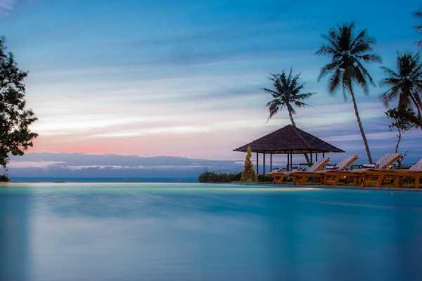 Karma Chakra Kerala Infinity Pool