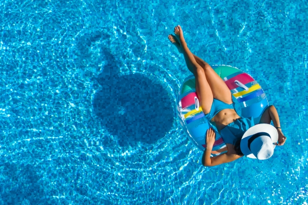 Karma Résidence Normande Outdoor Pool