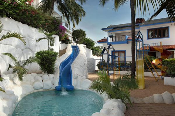 Karma Palacio Elefante Pools and aqua slide