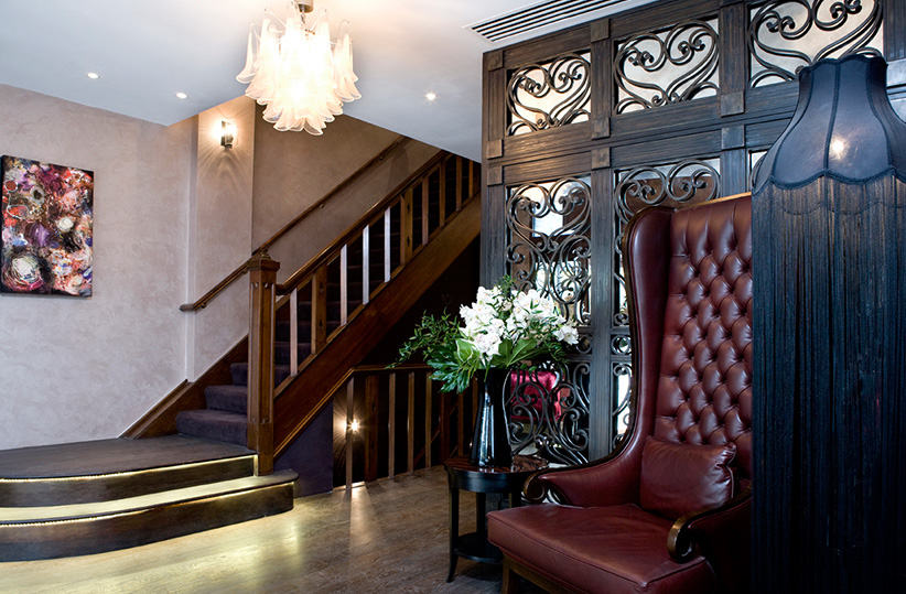 luxury hotel of karma sanctum soho Interior