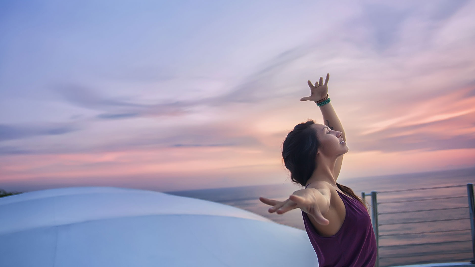 Yoga at temple lounge
