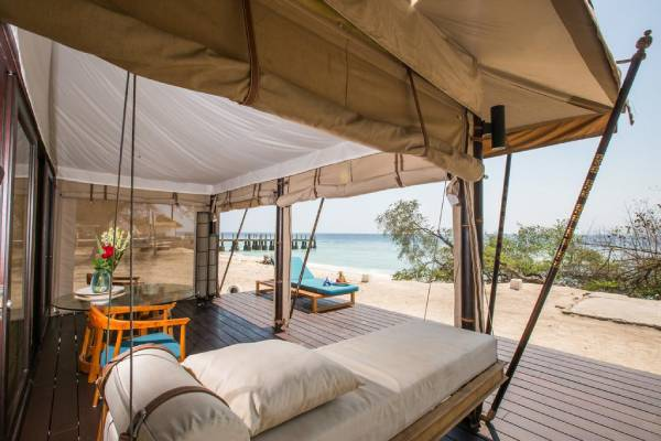 Karma Reef One Bedroom Seafront Tents