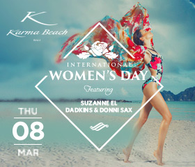 International Women's Day at Karma Beach Bali