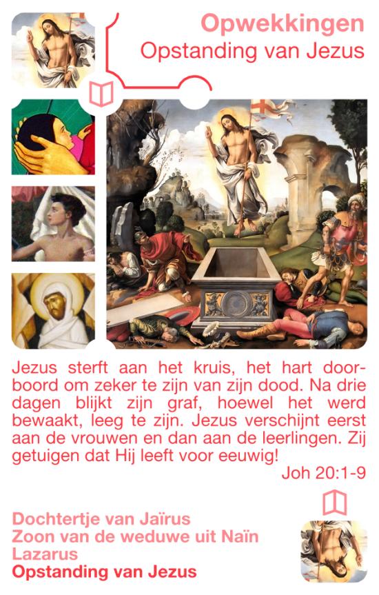 Kwartetkaart Jezus
