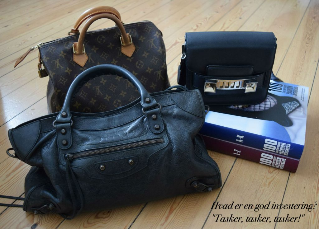 Et udvalg af tasker