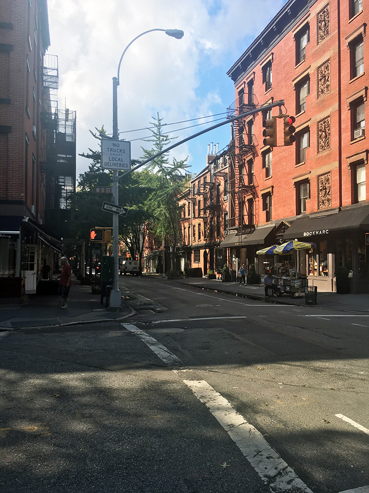 Bleeker St i Greenwich Village