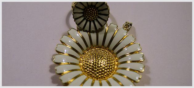 Flotte marguerite smykker