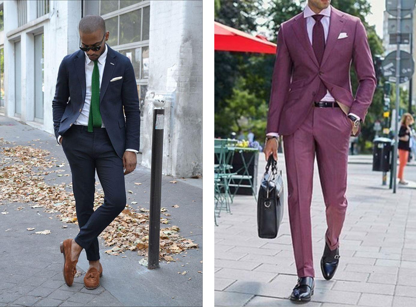 8830d19c Den navyblå farve på jakken og det grønne slips er endnu et super match.  Hvis man vil gå en lidt anden vej, kan man benytte en lyserød skjorte  sammen med et ...