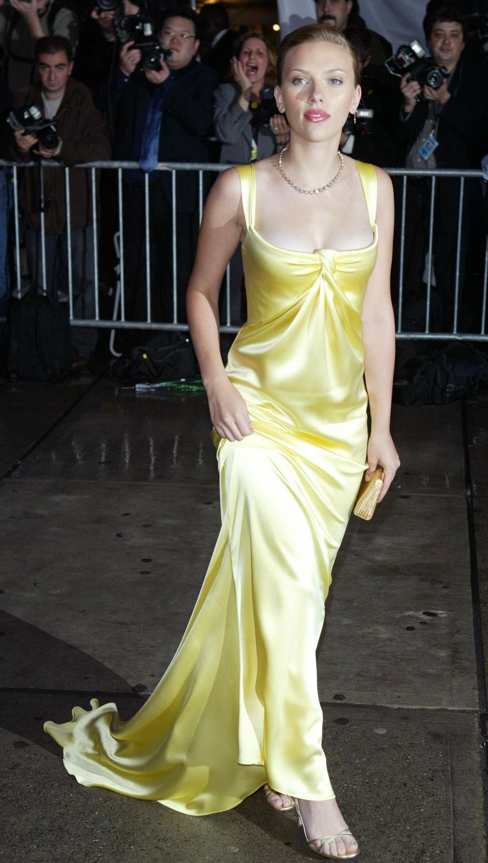 Scarlet Johansson am Met Ball 2004