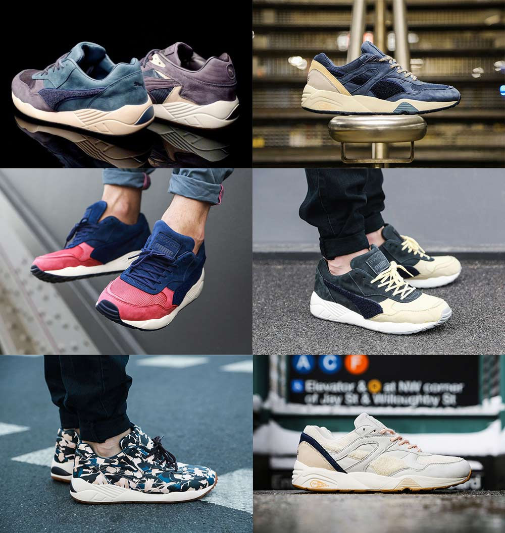 chaussures produite par PUMA et BWGH