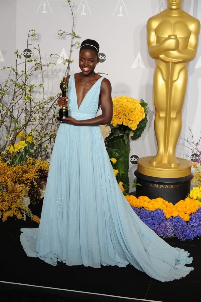 Lupita Nyong'o in Prada Oscars 2014
