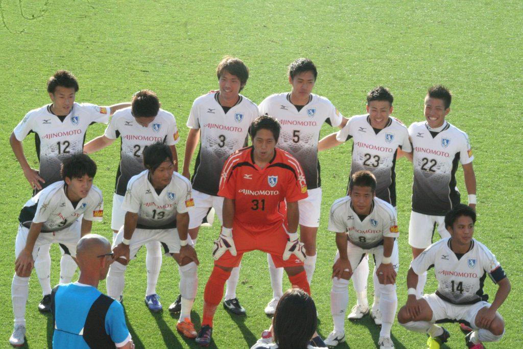 びわこ成蹊スポーツ大の先発メンバー
