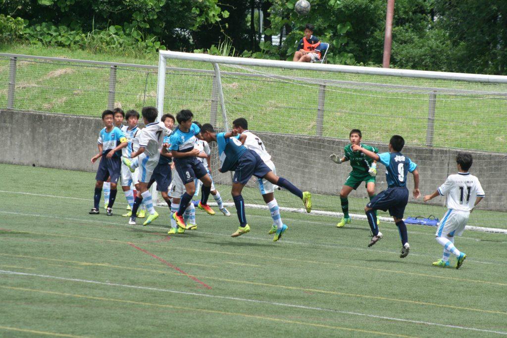 横浜FCの攻勢もよくしのいだ