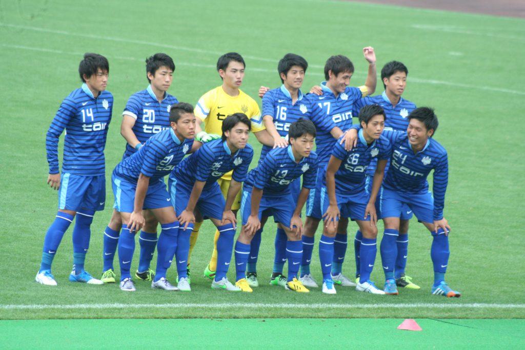 桐蔭横浜大学の先発メンバー