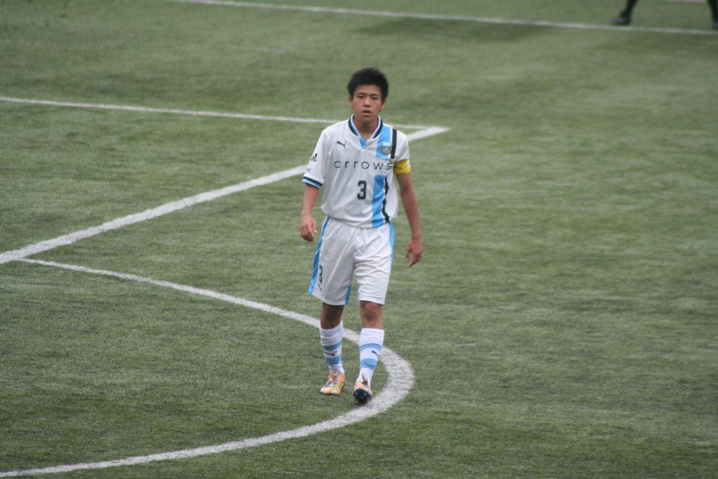 ゲームキャプテンを務めたのは川崎晶弘選手
