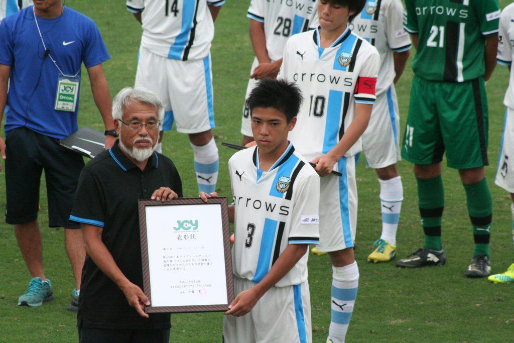 全試合先発フル出場、攻守に奮闘した川崎晶弘選手